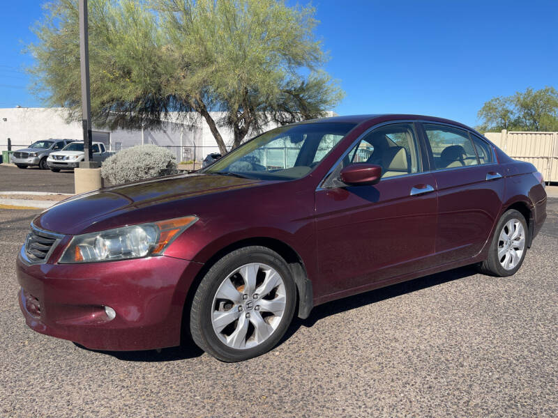2008 Honda Accord for sale at Tucson Auto Sales in Tucson AZ