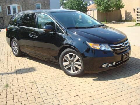 2015 Honda Odyssey for sale at Tempo Auto of Chicago in Chicago IL