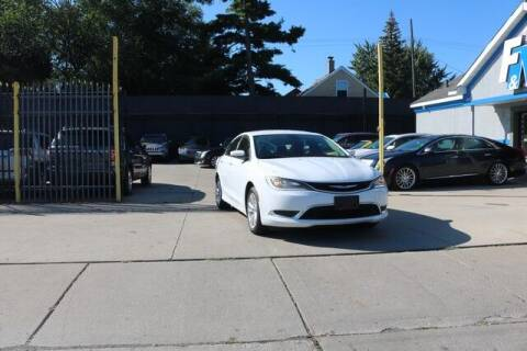 2015 Chrysler 200 for sale at F & M AUTO SALES in Detroit MI