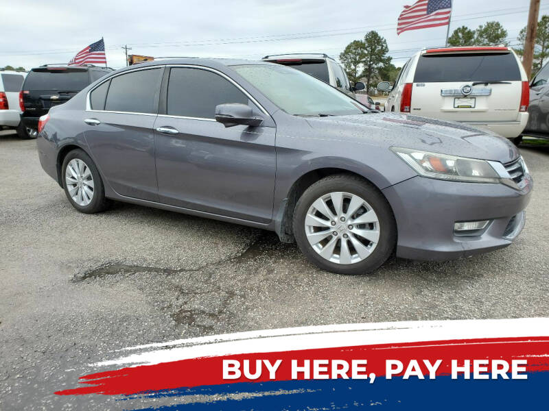 2015 Honda Accord for sale at Rodgers Enterprises in North Charleston SC