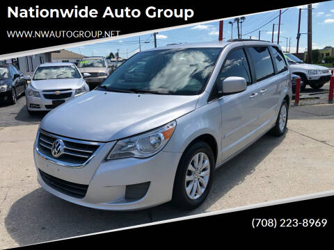 2012 Volkswagen Routan for sale at Nationwide Auto Group in Melrose Park IL