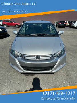 2010 Honda Insight for sale at Choice One Auto LLC in Beech Grove IN