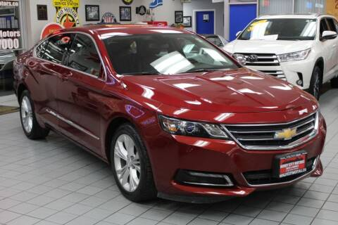 2018 Chevrolet Impala for sale at Windy City Motors in Chicago IL