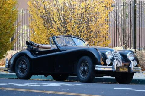 1955 Jaguar XK140 for sale at Gullwing Motor Cars Inc in Astoria NY