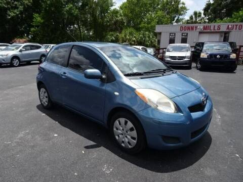 2010 Toyota Yaris for sale at DONNY MILLS AUTO SALES in Largo FL