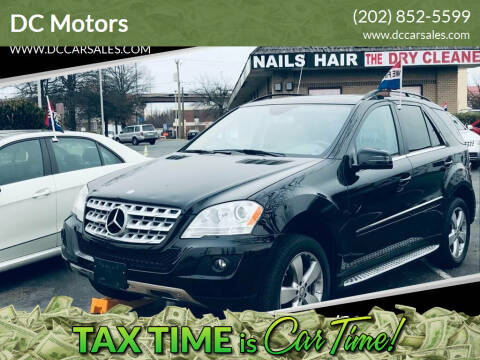2011 Mercedes-Benz M-Class for sale at DC Motors in Springfield VA