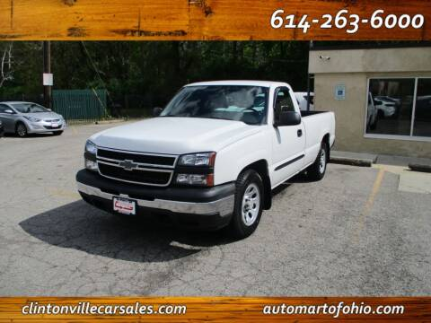 2007 Chevrolet Silverado 1500 Classic for sale at Clintonville Car Sales - AutoMart of Ohio in Columbus OH