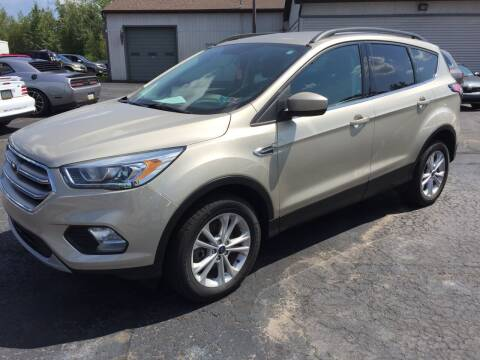 2017 Ford Escape for sale at Rinaldi Auto Sales Inc in Taylor PA