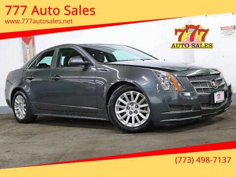 2011 Cadillac CTS for sale at 777 Auto Sales in Bedford Park IL