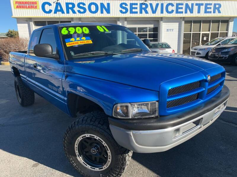 2001 Dodge Ram Pickup 1500 for sale at Carson Servicenter in Carson City NV