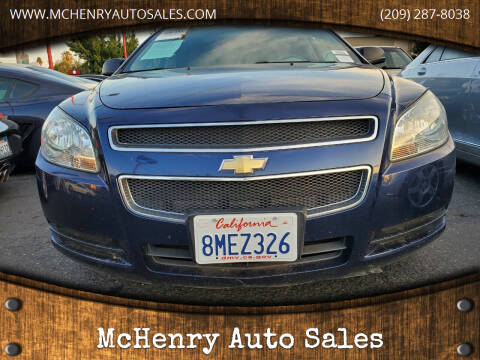 2011 Chevrolet Malibu for sale at McHenry Auto Sales in Modesto CA