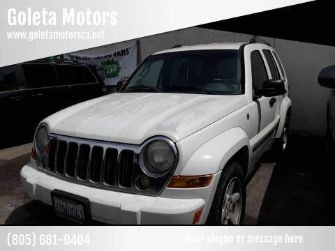 2005 Jeep Liberty for sale at Goleta Motors in Goleta CA