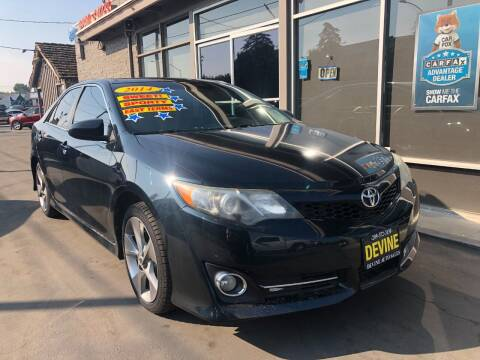 2014 Toyota Camry for sale at Devine Auto Sales in Modesto CA