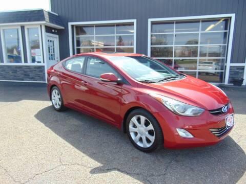 2012 Hyundai Elantra for sale at Akron Auto Sales in Akron OH
