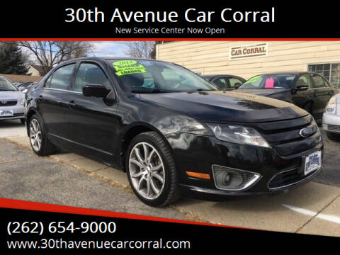 2012 Ford Fusion for sale at 30th Avenue Car Corral in Kenosha WI