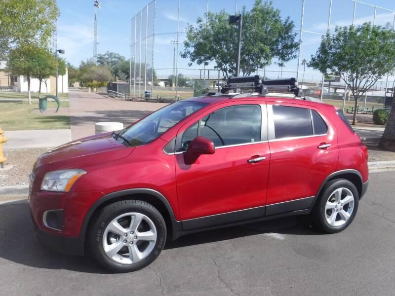 2015 Chevrolet Trax for sale at J & E Auto Sales in Phoenix AZ