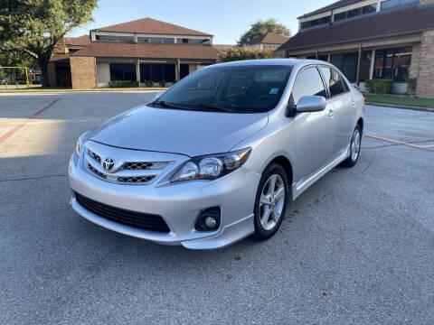 2013 Toyota Corolla for sale at Big Time Motors in Arlington TX