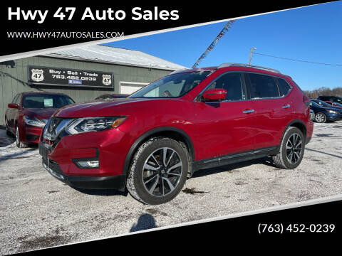 2017 Nissan Rogue for sale at Hwy 47 Auto Sales in Saint Francis MN
