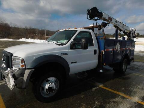 2006 Ford F-550 Super Duty for sale at Autowright Motor Co. in West Boylston MA