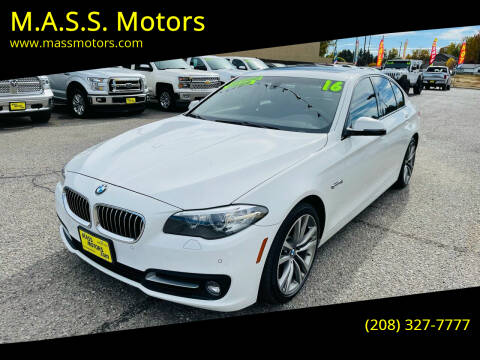2016 BMW 5 Series for sale at M.A.S.S. Motors - MASS MOTORS in Boise ID