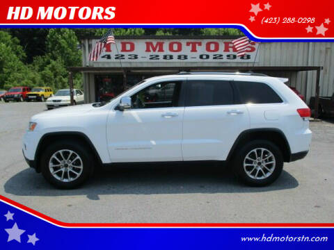 2015 Jeep Grand Cherokee for sale at HD MOTORS in Kingsport TN