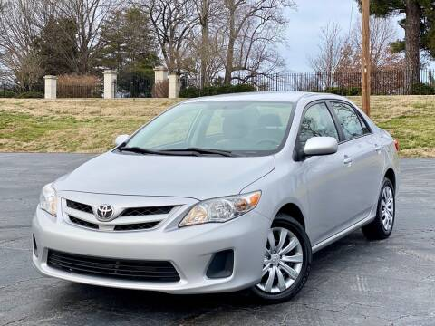 2012 Toyota Corolla for sale at Sebar Inc. in Greensboro NC