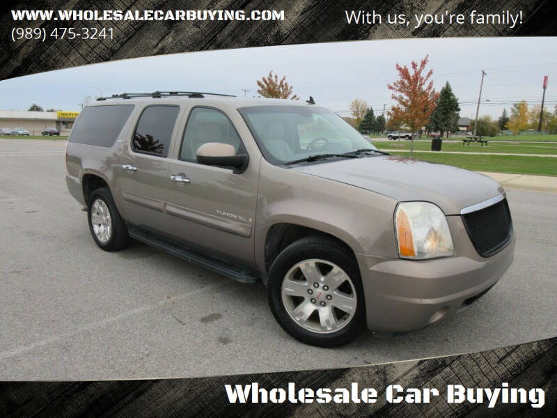 2007 GMC Yukon XL for sale at Wholesale Car Buying in Saginaw MI