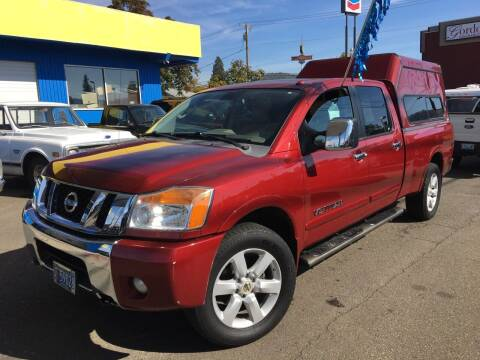 2008 Nissan Titan for sale at Earnest Auto Sales in Roseburg OR