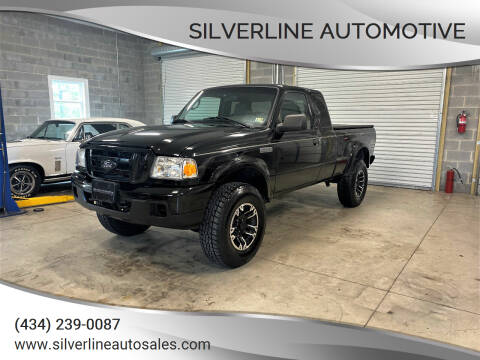 2006 Ford Ranger for sale at Silverline Automotive in Lynchburg VA