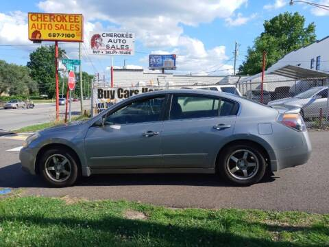 2008 Nissan Altima for sale at Cherokee Auto Sales in Knoxville TN