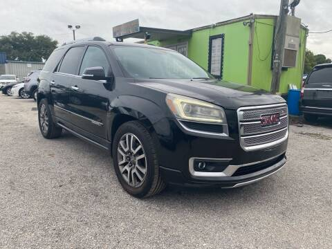 2013 GMC Acadia for sale at Marvin Motors in Kissimmee FL