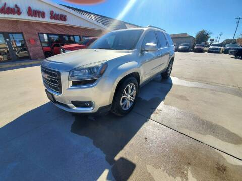 2013 GMC Acadia for sale at Eden's Auto Sales in Valley Center KS