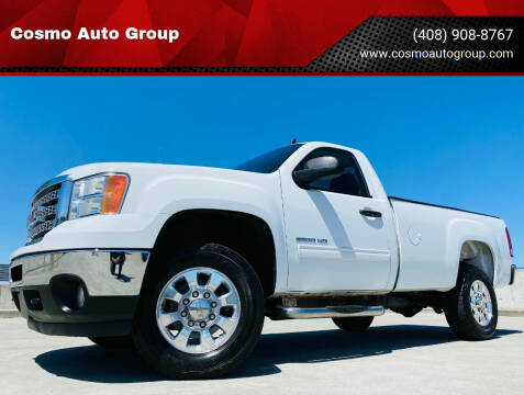 2012 GMC Sierra 2500HD for sale at Cosmo Auto Group in San Jose CA