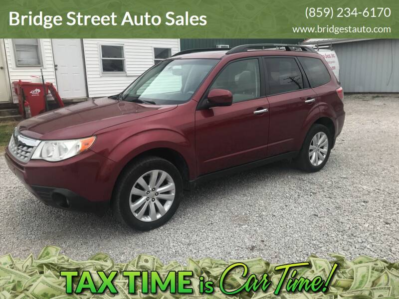 2011 Subaru Forester for sale at Bridge Street Auto Sales in Cynthiana KY