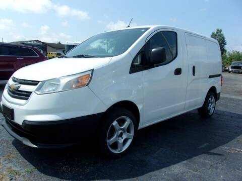 2015 Chevrolet City Express Cargo for sale at DAVE KNAPP USED CARS in Lapeer MI