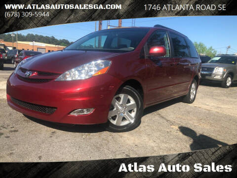 2006 Toyota Sienna for sale at Atlas Auto Sales in Smyrna GA