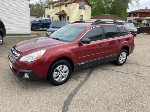 2013 Subaru Outback for sale at Affordable Motors in Jamestown ND