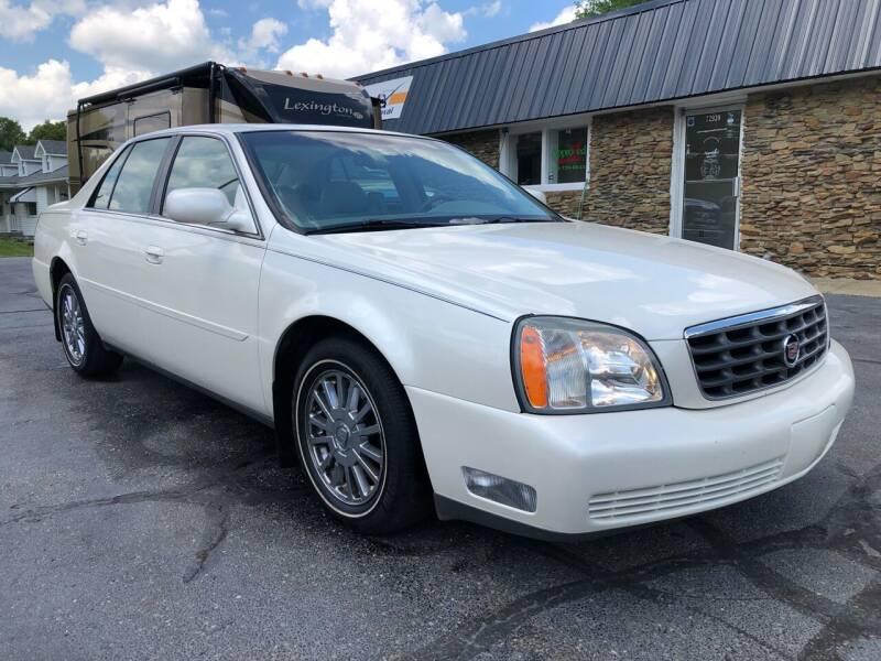2003 Cadillac DeVille for sale at Approved Motors in Dillonvale OH