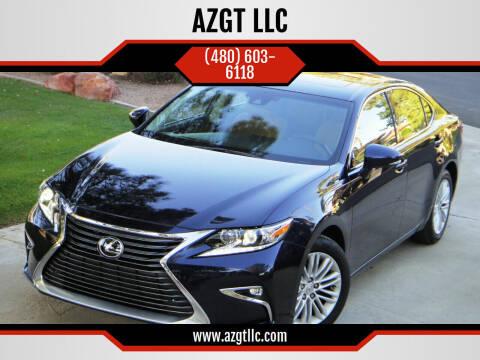 2016 Lexus ES 350 for sale at AZGT LLC in Mesa AZ
