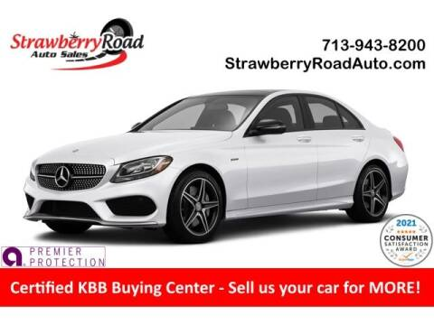 2018 Mercedes-Benz C-Class for sale at Strawberry Road Auto Sales in Pasadena TX