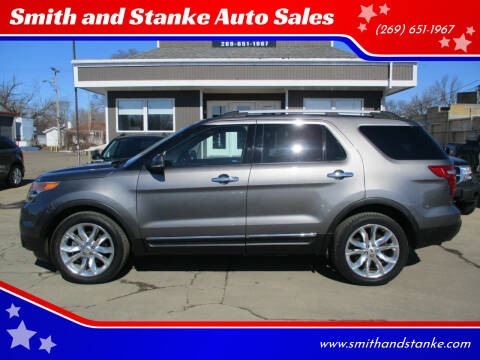 2012 Ford Explorer for sale at Smith and Stanke Auto Sales in Sturgis MI