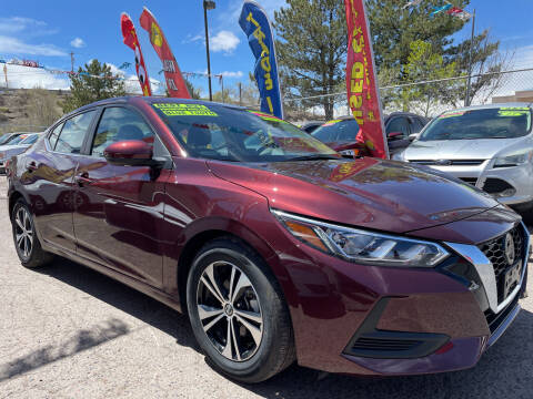 2021 Nissan Sentra for sale at Duke City Auto LLC in Gallup NM