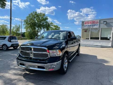 2019 RAM Ram Pickup 1500 Classic for sale at United Motors LLC in Saint Francis WI