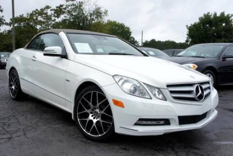2012 Mercedes-Benz E-Class for sale at CU Carfinders in Norcross GA
