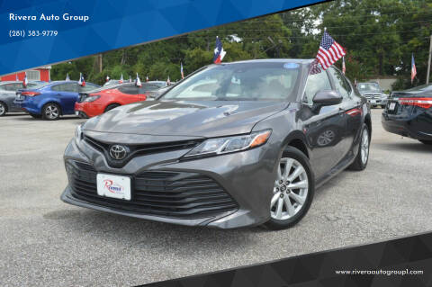 2018 Toyota Camry for sale at Rivera Auto Group in Spring TX