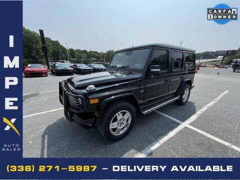 2004 Mercedes-Benz G-Class for sale at Impex Auto Sales in Greensboro NC