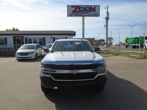 2016 Chevrolet Silverado 1500 for sale at Zoom Auto Sales in Oklahoma City OK