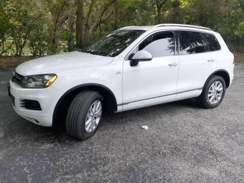 2013 Volkswagen Touareg for sale at Royal Auto Mart in Tampa FL