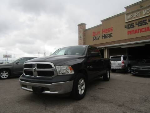 2018 RAM Ram Pickup 1500 for sale at Import Motors in Bethany OK