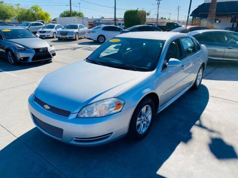 2013 Chevrolet Impala for sale at A AND A AUTO SALES in Gadsden AZ